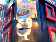 Modern Toilet Theme Restaurants - Taiwan - HK